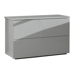 Rossetto - Fun White Nightstand by Rossetto USA - Features: