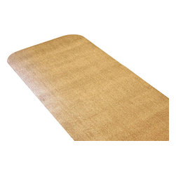 Bungalow Flooring - 30 in. L x 58 in. W Brown Dirt Stopper Runner - Made to order. Cotton fibers trap dirt and absorb moisture. Slip resistant rubber back. 30 in. L x 58 in. W x 0.5 in. H