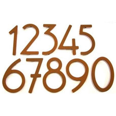 Modern House Numbers by Lumens