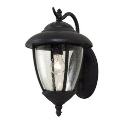 Sea Gull Lighting - Sea Gull Lighting 84070-746 Lambert Hill 1 Light Outdoor Wall Lights in Oxford B - One Light Outdoor Wall Fixture Oxford Bronze Finish