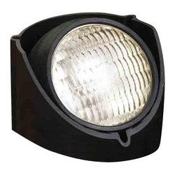 Kichler Lighting - Kichler Lighting 15488BK Black Landscape Well Light - 1, 50W Screw Terminal Lamp