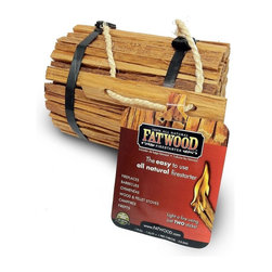 Fatwood Firestarter Round Bundle Burlap, 4 Pounds - It is made from splitting the stumps of pine trees that contain a high concentration of natural resin. This organic, 100 percent natural resin allows the fatwood firestarter to be started with a single match and gives a sustained flame. 100 Perent natural, with no chemical additives. Wood cut fromnon-endangered, non-rainforest, non-living trees. User-friendly, safe, clean, and non-toxic. Indoor or outdoor use. Indefinite shelf life. Not affected by moisture and can be started with a match, even when wet. Scs certified. Use for barbecues, campfires, wood stoves, fire pits, pellet stoves, chimineas, coal stoves, fireplaces.