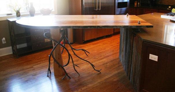 Contemporary Kitchen Islands And Kitchen Carts by Saddlecreek Design LLC