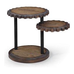 Bassett Mirror - Bassett Mirror Sprockets End Table T2817-220EC - Bassett Mirror Sprockets End Table T2817-220EC