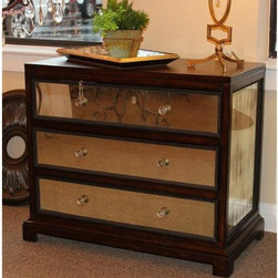 Jayne Accent Chest- Austin - This dresser is from Uttermost Co. It was originally 694.00. It is a beautiful addition to a bedroom or even in a living room.