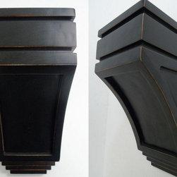 O'Neil Cabinets' Corbels - O'Neil Vintage with San Juan design