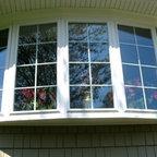 Bow Window - Upward shot of Bow Window