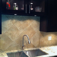 Contemporary Kitchen Countertops Our #1 Contractors Design (Derrick Angeletti)