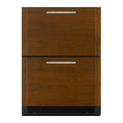 "Jenn-Air 24"" Double Refrigerator Drawers, Custom Panel 