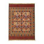 eSaleRugs - 6' 5 x 8' 10 Pictorial Sumak Rug - SKU: 22139490 - Hand Woven Pictorial Sumak rug. Made of 100% Wool. Brand New.