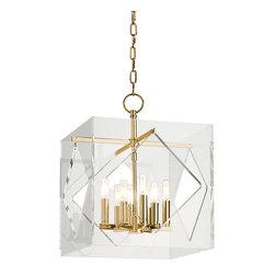 Hudson Valley Lighting - Hudson Valley Lighting 5916-AGB Travis Aged Brass Pendant - Hudson Valley Lighting 5916-AGB Travis Aged Brass Pendant