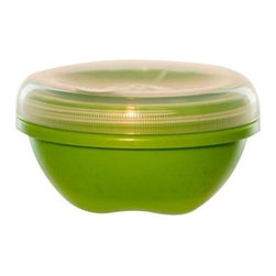Preserve Small Food Storage Container - Green - Case Of 12 - 19 Oz - Powered by Leftovers