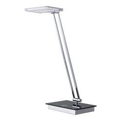 CAL Lighting - CAL Lighting BO-2232DK LED Desk Lamp with Touch Sensor Dimmer by CAL Lighting - 5W LED DESK LAMP W TOUCH DIMMER
