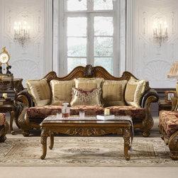 Homey Design - Vallauris Sofa - HD-481-S - Vallauris Collection Sofa
