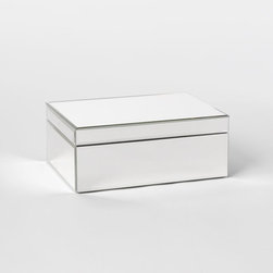 Mirrored Jewelry Box - Add sparkle and shine to your dresser with a mirrored jewelry box. This one from West Elm is both pretty and functional, two of my favorite things.