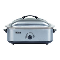 Nesco - Nesco 4818-25-20, 18-Quart Stainless Steel Roaster Oven - Nesco 4818-25-20, 18-Quart Stainless Steel Roaster Oven
