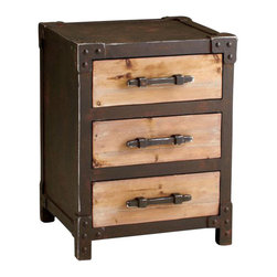 Cyan - Chester Storage Table - Weight: 40.25 lbs.