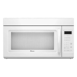 None - Amana Over-the-Range White 1.7 cubic feet Microwave Oven - Stop your microwave from draining electricity with the press of a button. The Energy Saver Setting cuts over 80-percent of the power to the microwave while you're away,so you save money and conserve energy.