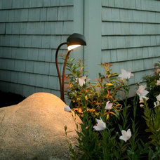 Traditional Outdoor Lighting by Captain's Landscape Design & Build