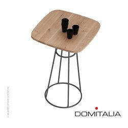 Domitalia Barrique Bar Table Wild Oak/Anthracite - Domitalia Barrique Bar Table Wild Oak/Anthracite