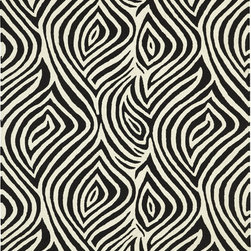 Dynamic Rugs - Dynamic Rugs Dynamak 3009-190 (Ivory Black) 8' x 11' Rug - DYNAMAK collection is created using a new construction technique pioneered by Dynamic Rugs. DYNAMAK brings the exquisite look of hand woven Soumak rugs into a moderate retail price range. This collection is handmade with 100% wool yarn by master craftsmen in India. The rugs for this collection are flat woven with the pile thickness and backing strength of hand tufted rugs. DYNAMAK rugs bring the look of centuries old weaving techniques to any home. The desired transitional effect of hand stitched and loop piled carpets, in a more durable construction and at prices everyone can afford makes this collection a rarity to seek. The DYNAMAK collection includes interpretations of traditional Oriental rug designs, and transitional designs with reduced borders and enlarged patterns.
