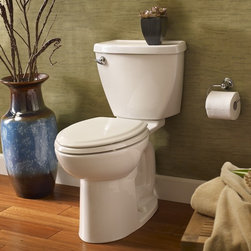 """American Standard Cadet 3 Flowise Elongated Toilet 10"""" Rough - Smarter design for higher performance and fewer clogs – all at a great price. The Cadet® 3 series toilets come in a variety of styles; one piece and two piece models, elongated and round front bowls, right height and compact versions and even water efficient models that flush on just 1.28 gallons per flush. The Cadet 3 is a hard working versatile series with superior performance."""