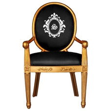 Traditional Armchairs by Luxury Monograms