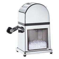 Frieling - Deluxe Ice Crusher - This durable crushed-ice dispenser makes your cocktail party by the pool or that perfect summer day for snow cones even better. Sturdy rubber feet help keep the unit steady, as you become the best host ever!