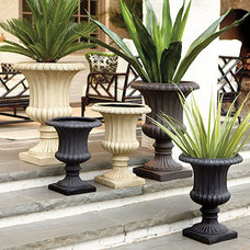 Traditional Outdoor Planters by Ballard Designs