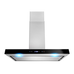 "AKDY - AKDY AK-Z627WPS3 Euro Stainless Steel Wall Mount Range Hood, 36"" Install - Designed of brushed stainless steel, this traditional Italian design chimney hood will be the main focal point for your kitchen. Brilliant LED lighting provides impressive illumination over and around the cook top. A powerful, yet quiet internal blower will ventilate any smoke, grease, and contaminants. Ductless feature is available."