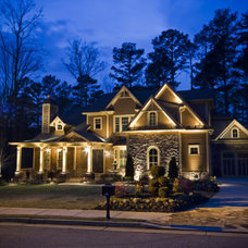 Traditional Outdoor Lighting by Innovative Irrigation