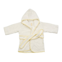 Bamboo Baby Beach Robe - Onesize - A lovely bamboo baby hooded beach robe for the little one, just like mom and dad! Such a great shower gift idea!