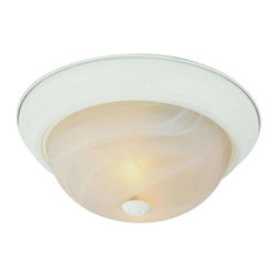Trans Globe Lighting - Trans Globe Lighting 13618 AW Flushmount In Antique White - Part Number: 13618 AW