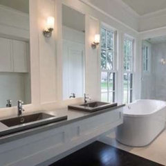 modern bathroom vanities and sink consoles Pyrolave Lava Stone vanity and sinks