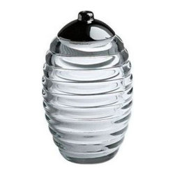 Alessi - Alessi Sugar Jar - Keep your sugar fresh and looking stylish in an elegant crystallin jar. Not only does it look great sitting on your counter, but you'll be happy to offer it to your guests, rather than that beat up bag from the pantry.