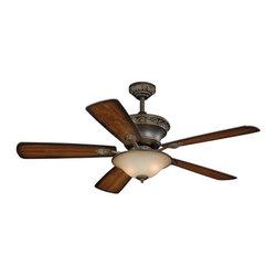 "Vaxcel Lighting - Vaxcel Lighting FN52994 Riviera 52"" 5 Blade Indoor Ceiling Fan with Reversible M - Features:"