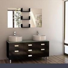 """Wellington 55"""" Double Sink Vanity Set (DEC350)"""