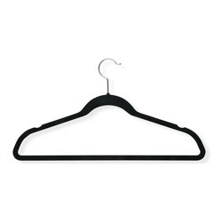Honey Can Do - Honey Can Do Velvet Touch Shirt Hangers - Set of 9 - HNGT01339 - Shop for Clothing Hangers from Hayneedle.com! About Honey-Can-DoHeadquartered in Chicago Honey-Can-Do is dedicated to helping you organize your life. They understand that you need storage solutions that are stylish and affordable at the same time. Honey-Can-Do focuses on current design trends and colors to create products that fit your decor tastes while simultaneously concentrating on exceptional quality. When buying a Honey-Can-Do product you can be sure you are purchasing a piece that has met safety control standards and social compliance methods.
