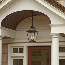 traditional outdoor lighting by Brass Light Gallery