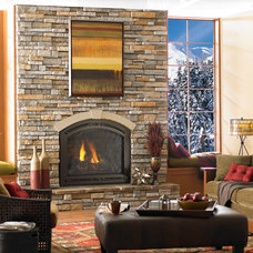 Traditional Indoor Fireplaces by Fireplace Distributors