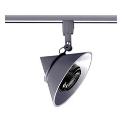 Juno Lighting - Trac 12 TL160 MR16 Geometrics Cone Track Head, Tl160sl - MR16 Cone series provide high intensity display and accent lighting. A wide variety of light control accessories complete the offering.