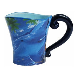WL - 4 Inch Dolphin Underwater Scene Save Our Ocean Blue/Black 11 oz Mug - This gorgeous 4 Inch Dolphin Underwater Scene Save Our Ocean Blue/Black 11 oz Mug has the finest details and highest quality you will find anywhere! 4 Inch Dolphin Underwater Scene Save Our Ocean Blue/Black 11 oz Mug is truly remarkable.