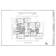 Modern Floor Plan Gamble House