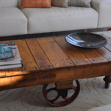 Rustic Coffee Tables by Rustic Refinery