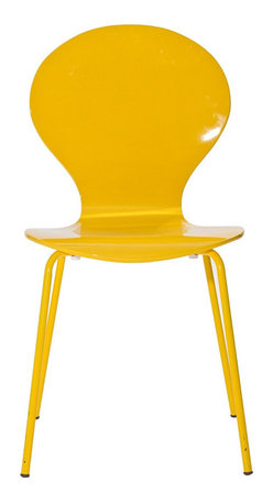 East End Imports - Insect Dining Chair in Glossy Yellow - For true flights of fancy, no house is complete without an insect chair. Good for dinning room or living room, this creatively styled piece is sure to draw attention and admiration.