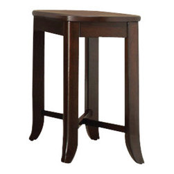 Office Star - INSPIRED by Bassett Bella End Table in Truffle Finish - End Table in Truffle Finish belongs to Bella Collection by Ave Six Series   End Table (1)