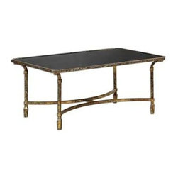 Uttermost - Uttermost Zion Metal Coffee Table - 24362 - Uttermost's tables combine premium quality materials with unique high-style design.