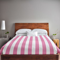 e by design - Petal Twin Stripe Duvet Cover - - Decorate and personalize your home with duvet covers that embody color and style from e by design  - Closure: Concealed zipper  - Care Instructions: Spot clean recommended  - Made in USA e by design - DS-N1-Petal-T