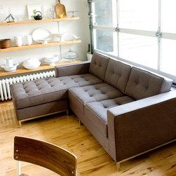 Modern Loft  Living Room -