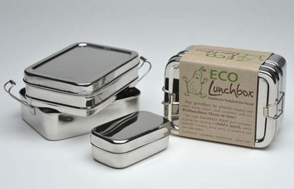 contemporary food containers and storage by LivePure